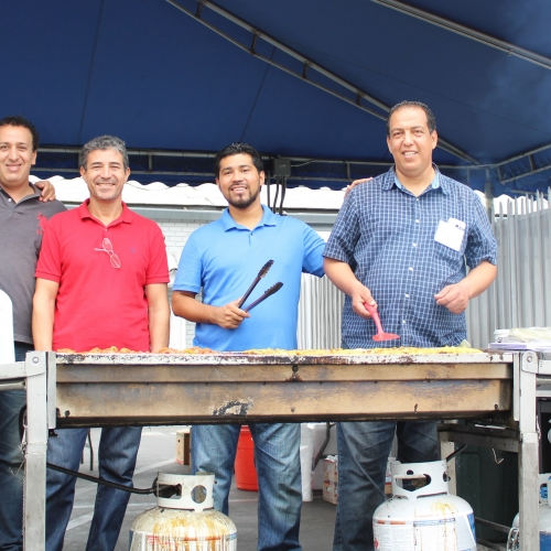 Open Mosque Day - Grill Guys 2