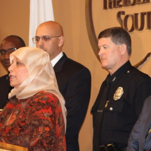 Islamic Center Responds to Hate Crime