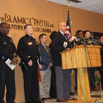 Threatening letters sent to mosques aren't hate crimes, authorities say