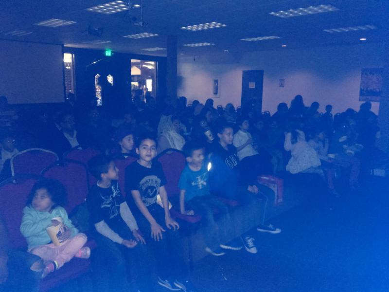 Unlimited Popcorn and Fun at 1st Family Movie Night