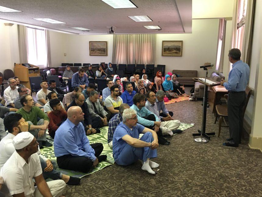 An Update on our First Pasadena Jum'a Prayer
