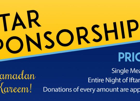 Iftar Sponsorship Program