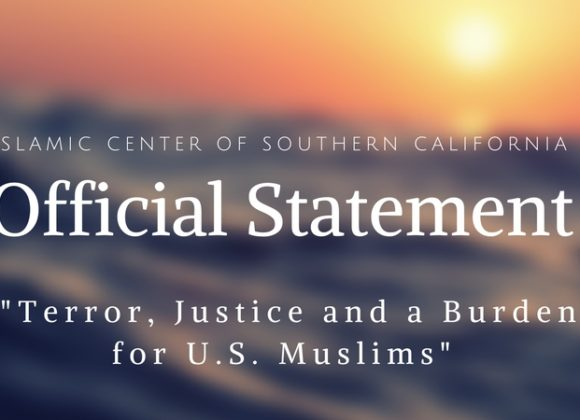 Terror, Justice and a Burden for U.S. Muslims