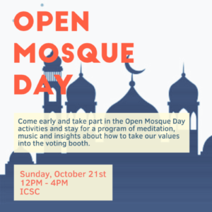 Open Mosque Day, 2018!