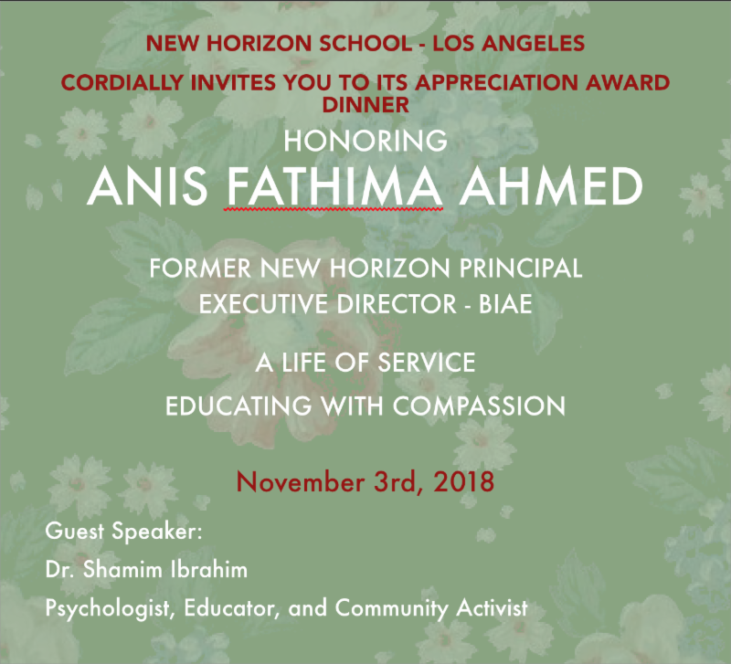 New Horizon L.A. Appreciation Award Dinner