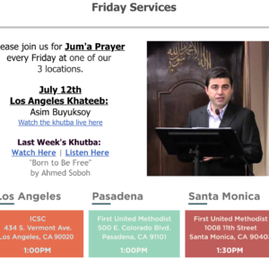 This Week: Intro to Islam class | Juma Services | Foster Parenting Workshop