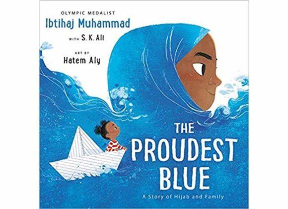 Thank you, Ibtihaj Muhammad! #ProudestBlue
