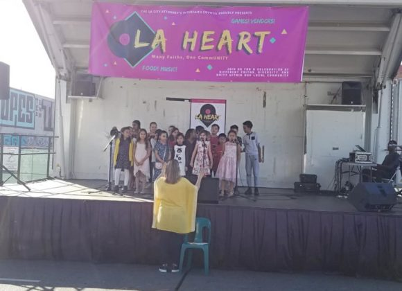 Thanks for Being Part of the 1st Ever  LA HEART Block Party