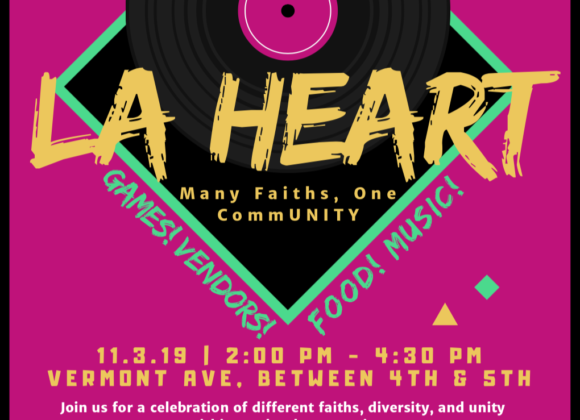 Join Us For LA HEART – Many Faiths, One CommUNITY