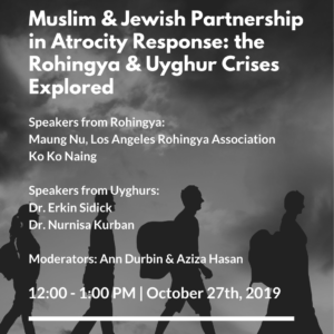 Muslim and Jewish Partnership in Atrocity Response: the Rohingya and Uyghur Crises Explored