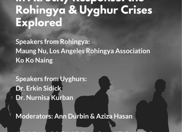 Muslim and Jewish Partnership in Atrocity Response: the Rohingya and Uyghur Crises Explored