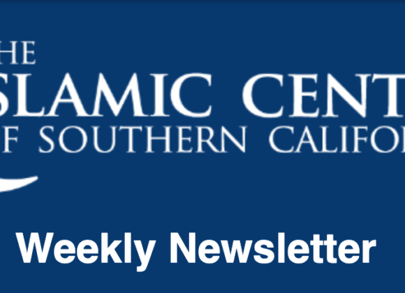 What's happening at ICSC? – Weekly Newsletter
