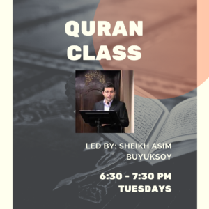 Quran Class with Sh. Asim Buyuksoy