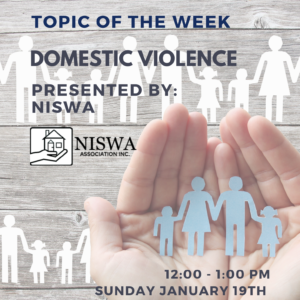 Topic of the Week: Domestic Voilence