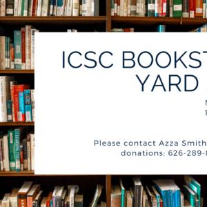 ICSC Bookstore Yard Sale