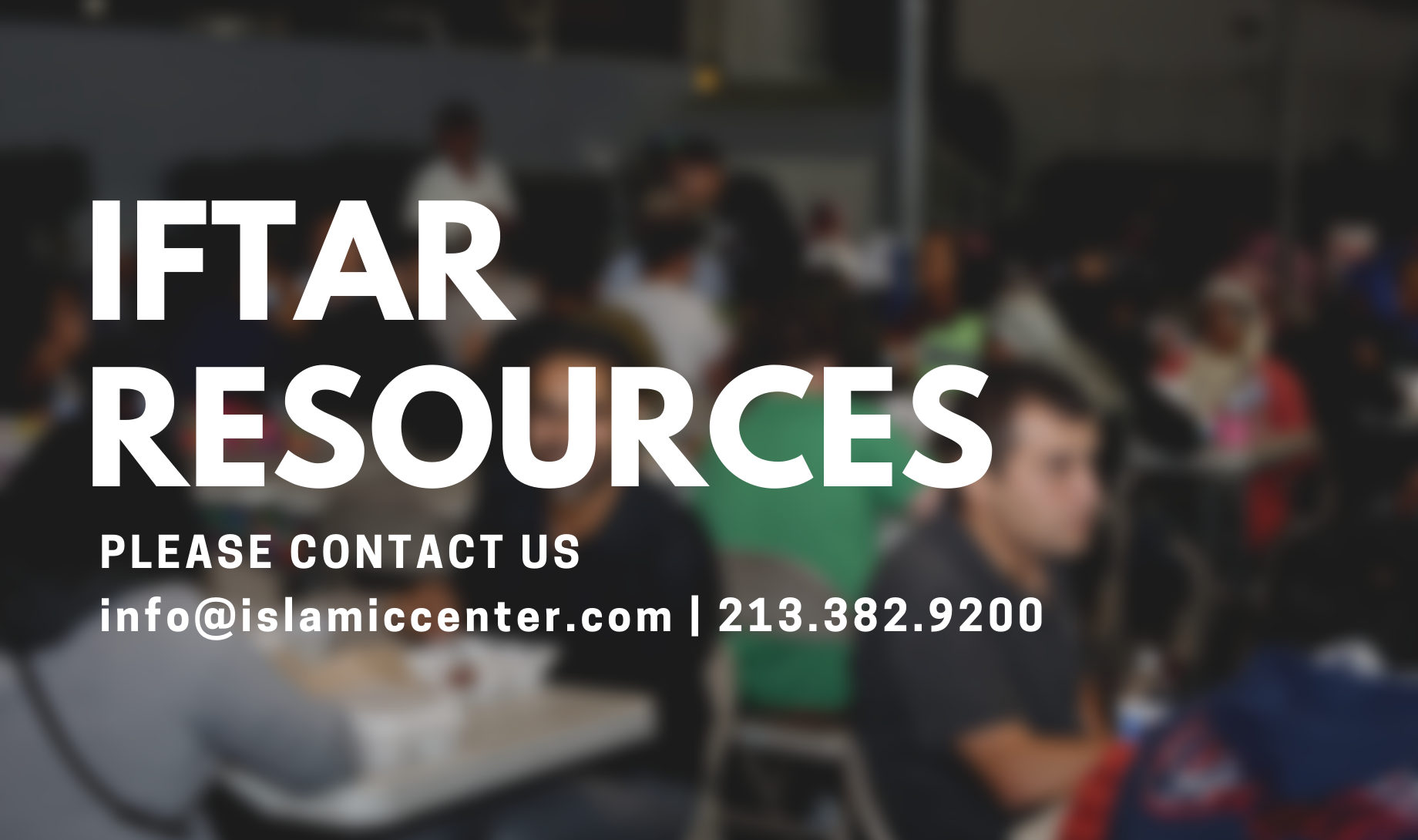 iftar resources