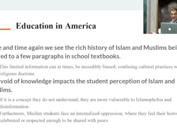 Fighting for Equity in American School Textbooks: a Khutba by Salam Al-Marayati