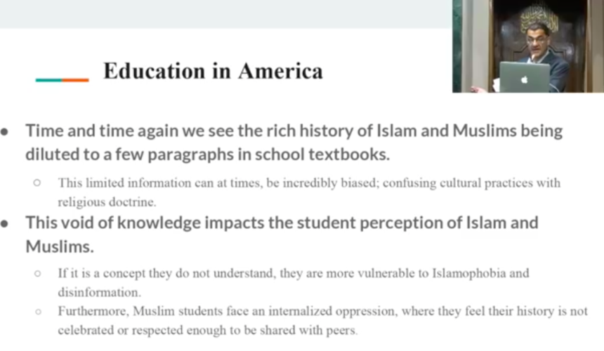 Fighting for Equity in American School Textbooks: a Khutba by Salam Al-Marayati