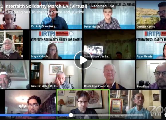 5th Annual Interfaith Solidarity (Virtual) March