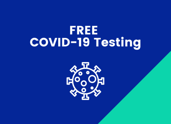 FREE COVID-19 Testing located near the ICSC