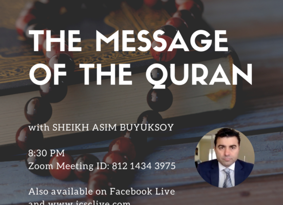 Monday Night Program: The Message of the Qur'an